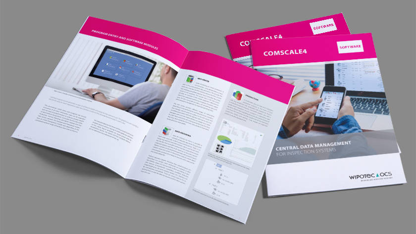 Brochure: Comscale4 Software