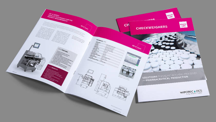Brochure: Checkweighers Pharma