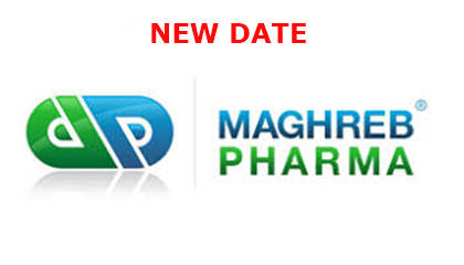 exhibition logo: Maghreb Pharma, Algiers 2020