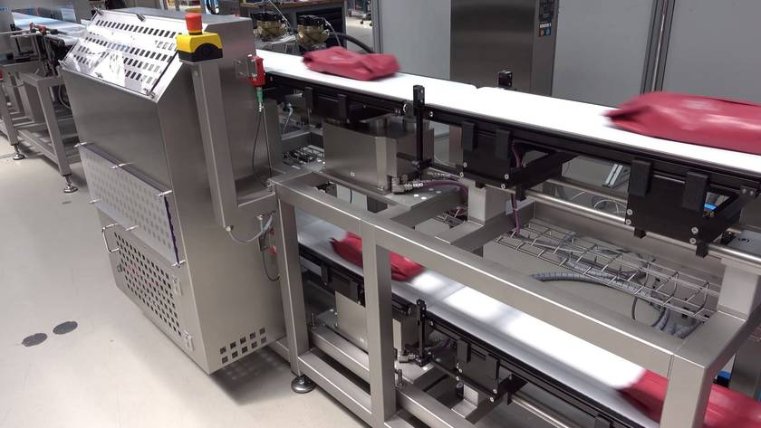 Precise checkweighing with a small footprint