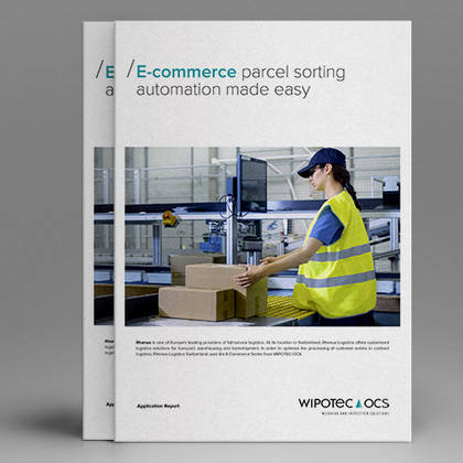 Application report: E-commerce parcel sorting automation made easy