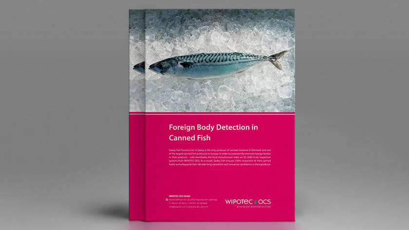 Foreign Body Detection in Canned Fish