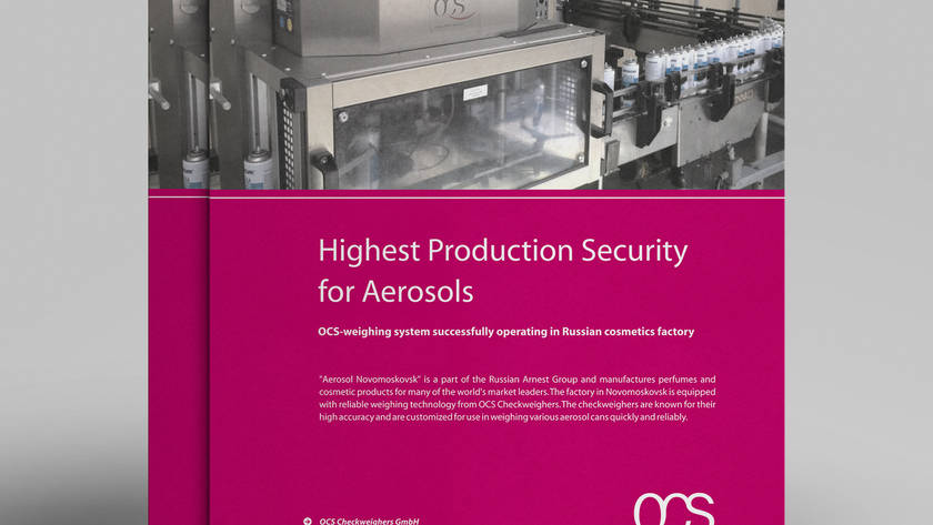 Highest Production Security for Aerosols