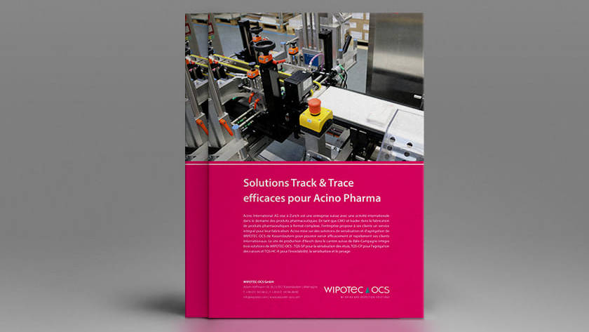 Efficient Serialization and Aggregation Solutions for Acino Pharma