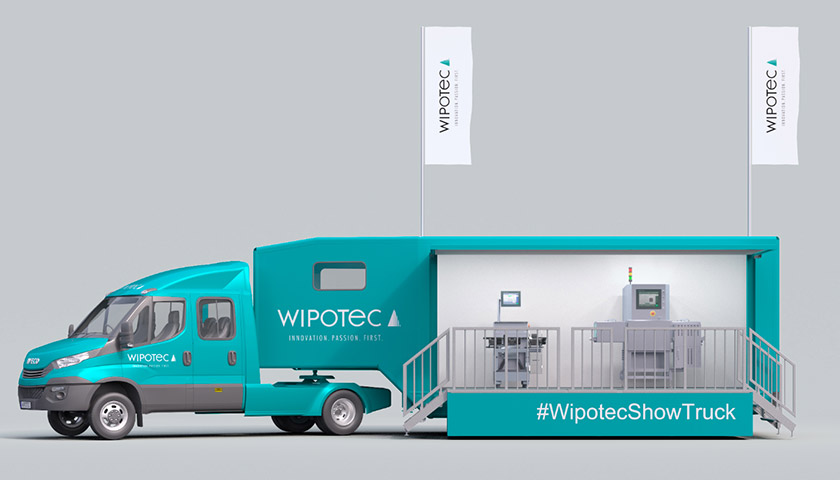 Wipotec Show Truck