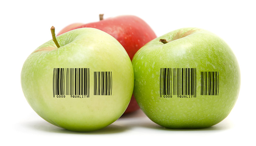 Traceability Barcode for Fresh Fruits