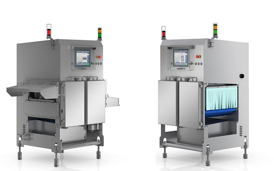 Reliable X-ray inspection systems in innovative wash-down hygiene design