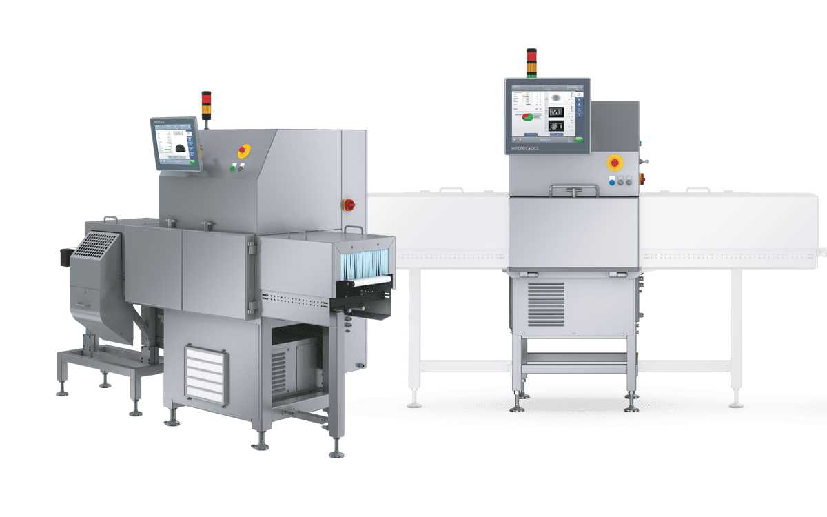 Optical inspection systems and X-ray inspection systems with checkweighers
