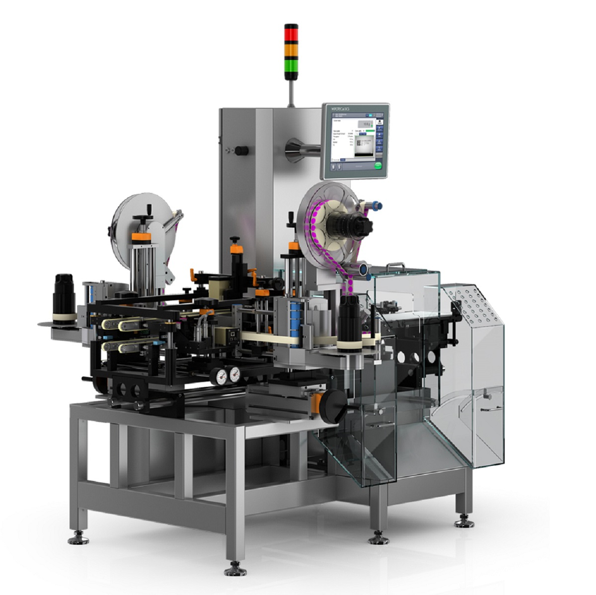 The world's most compact all-in-one serialisation machine