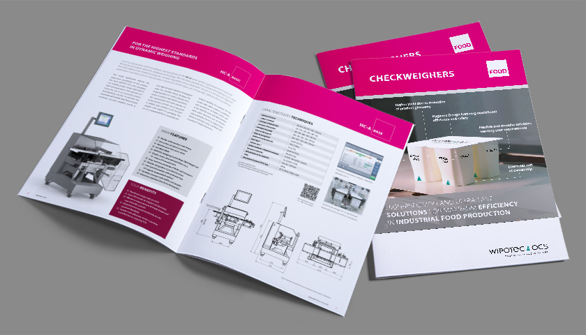 Brochure: Checkweighers Food