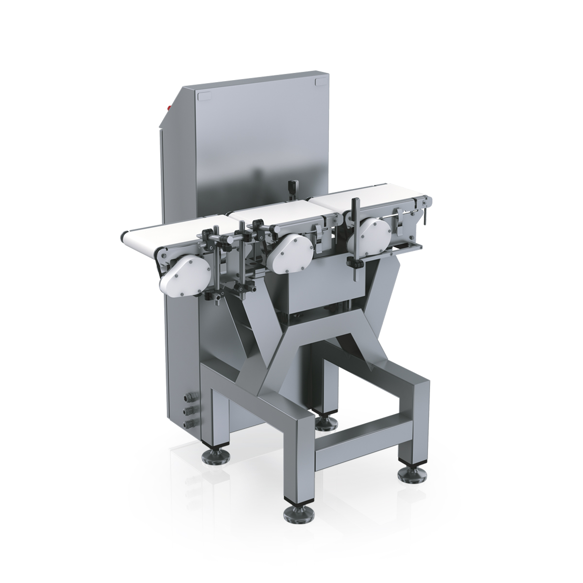 Checkweigher EC-E-VA rear view