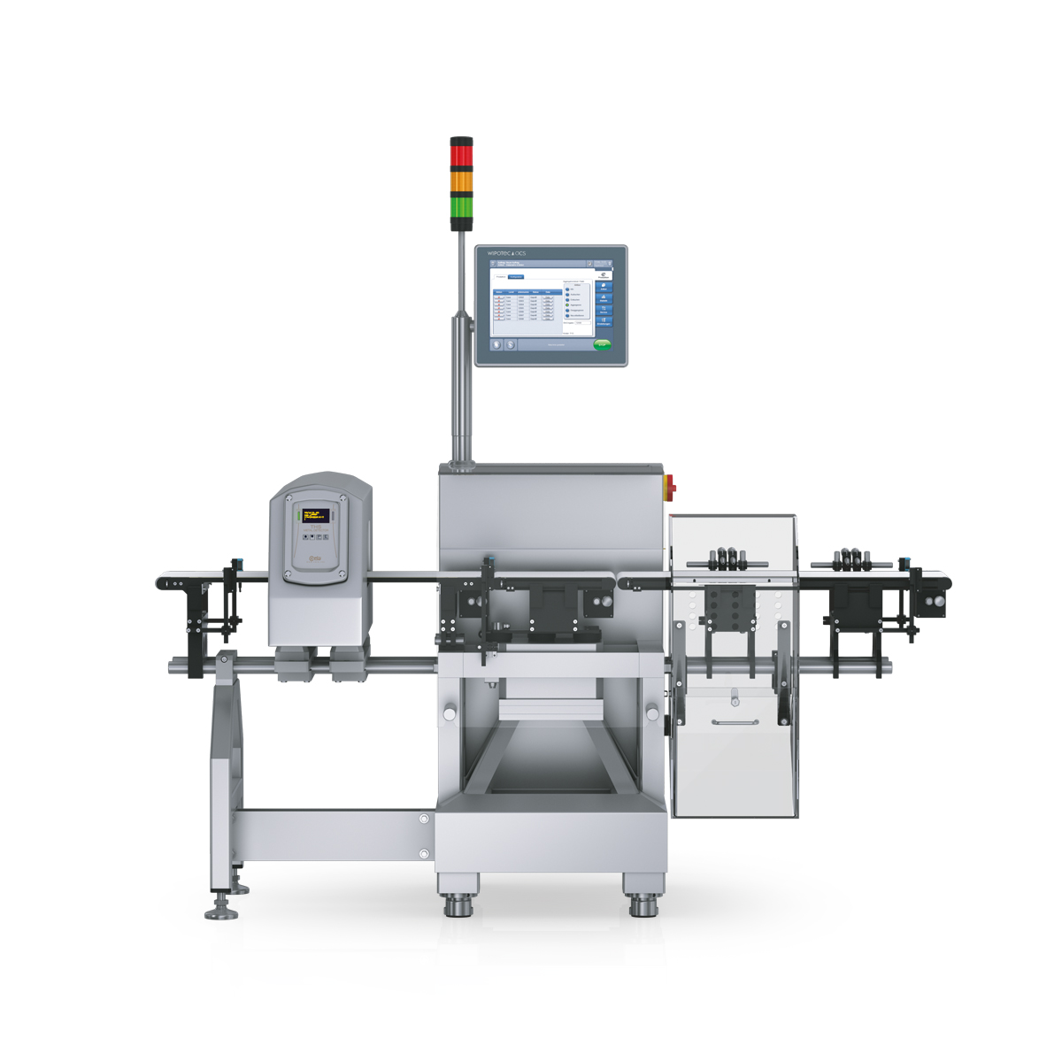 Checkweigher and metal detector HC-A-MDi front view