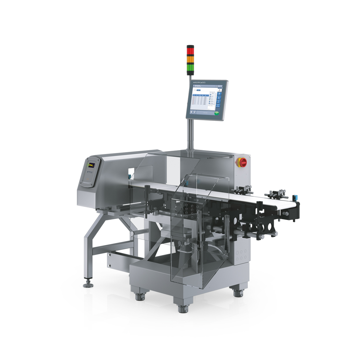 Checkweigher and metal detector HC-A-MDi right view