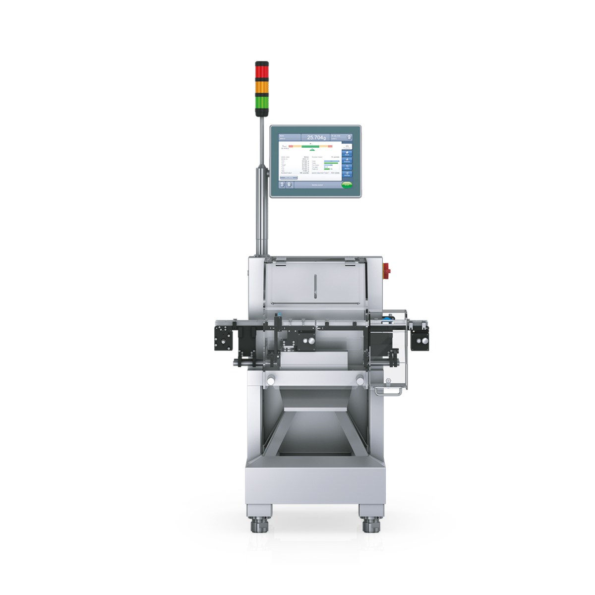 Checkweigher HC-A-MI front view