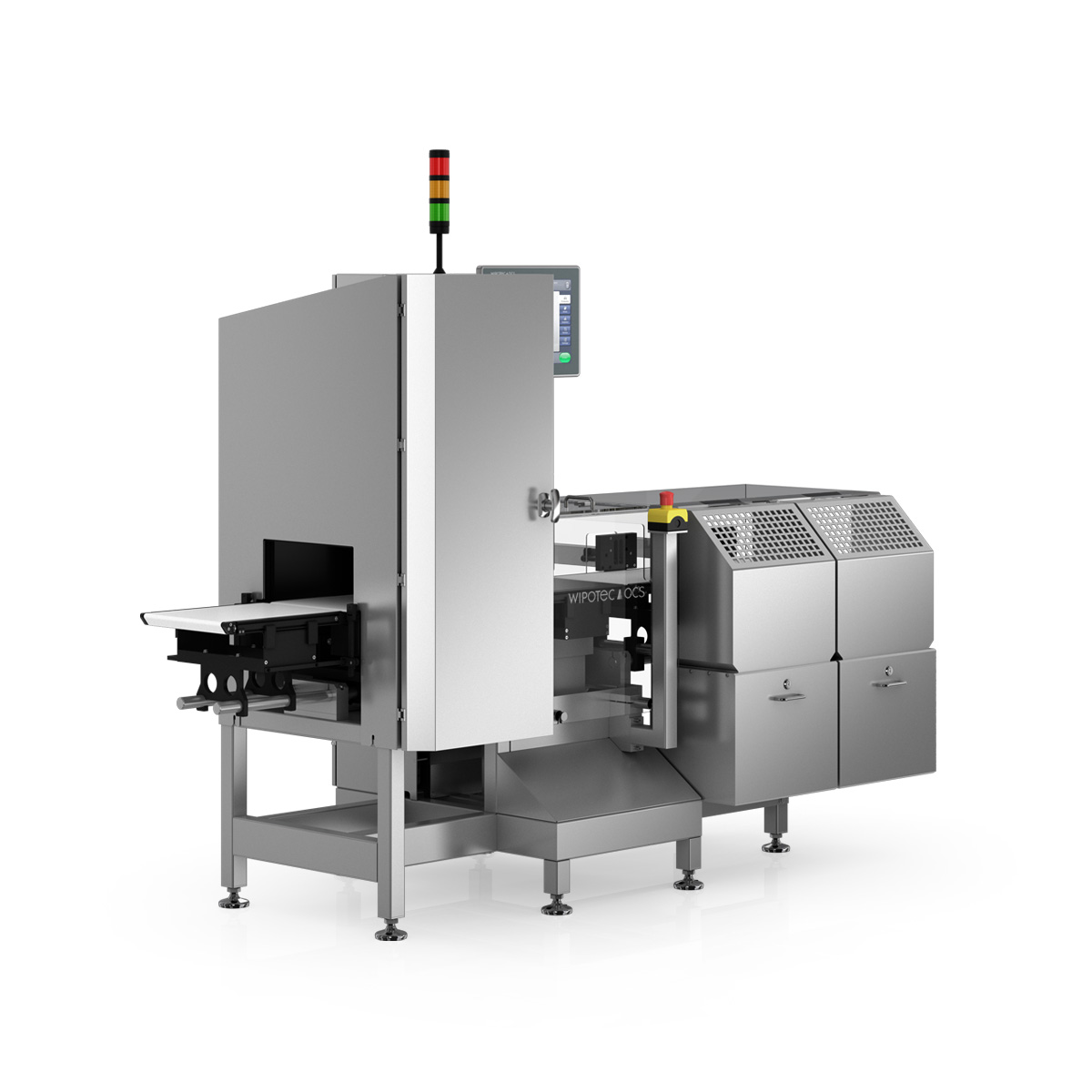 Checkweigher HC-A-V left view