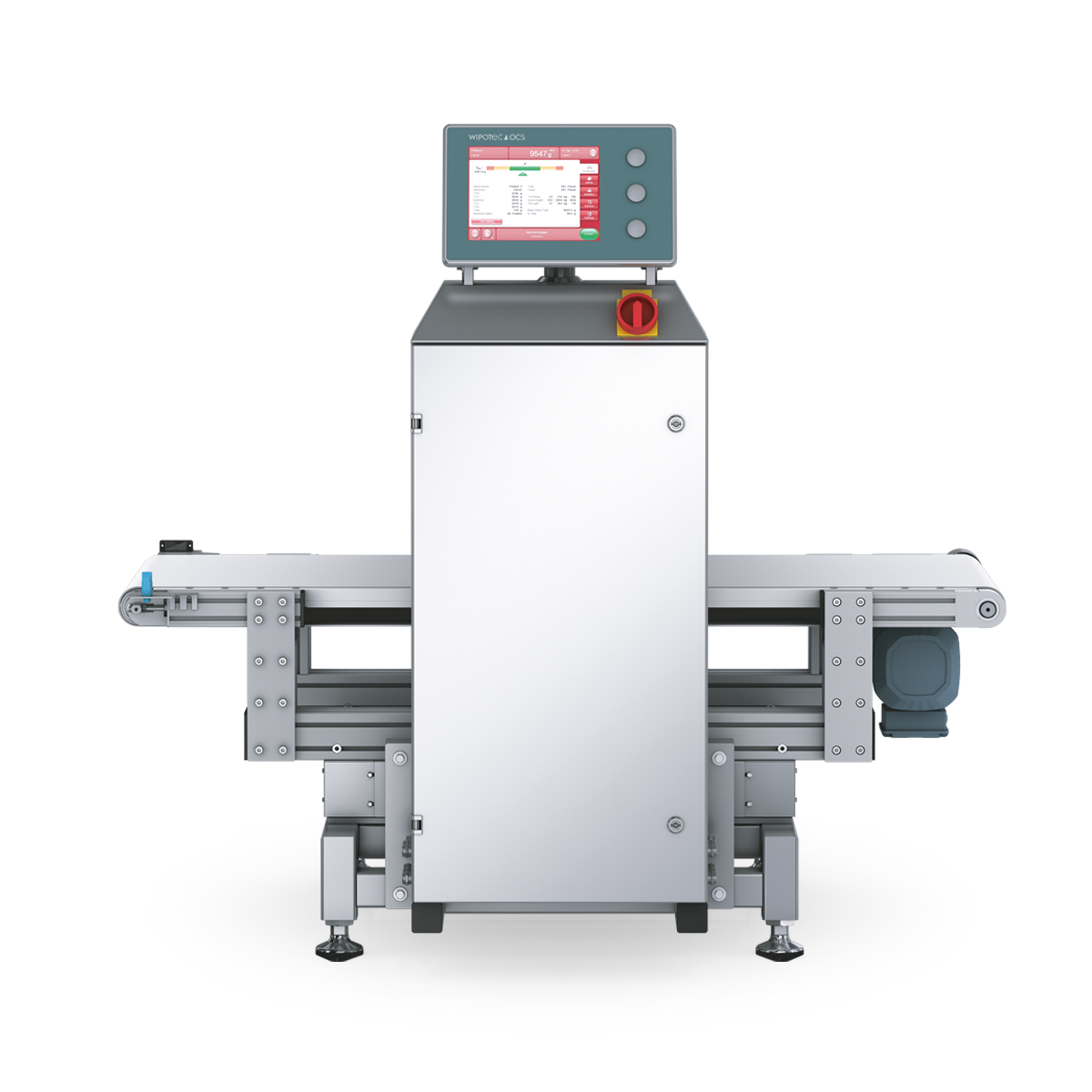 Checkweigher and metal detector HC-M-MDi-SL front view