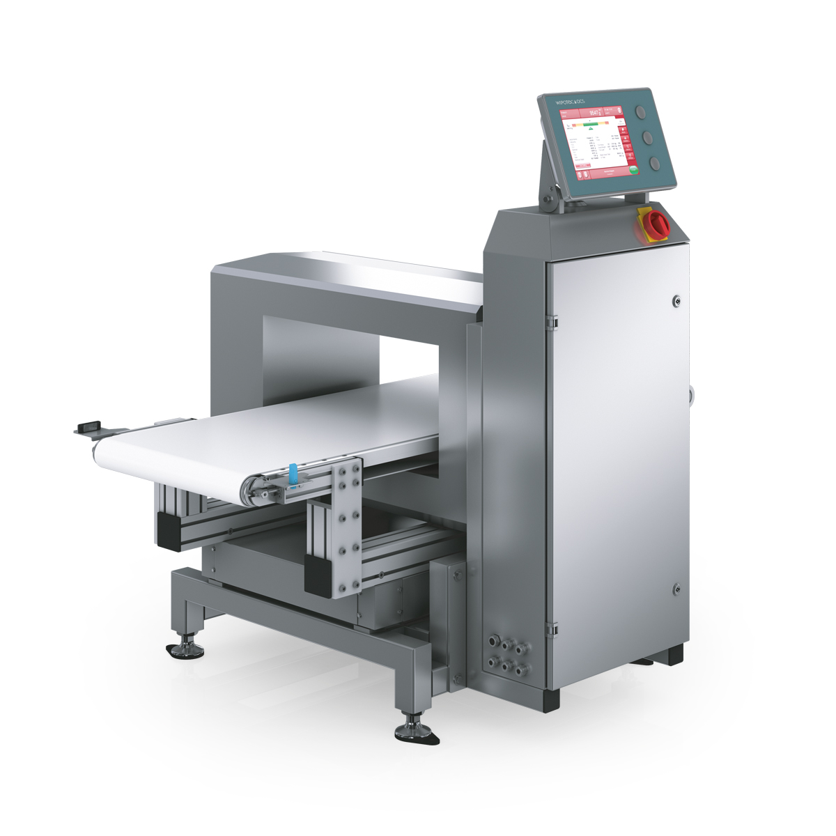 Checkweigher and metal detector HC-M-MDi-SL left view
