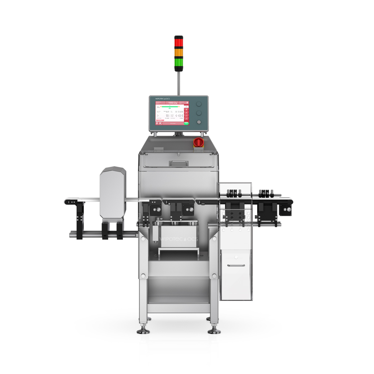 Checkweigher and metal detector HC-M-MDi front view