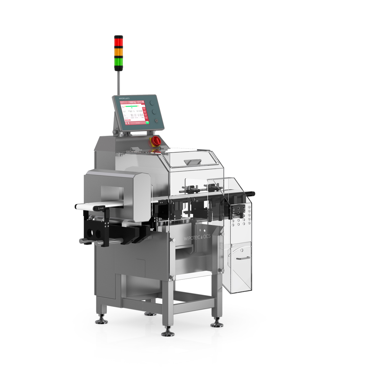 Checkweigher and metal detector HC-M-MDi left view
