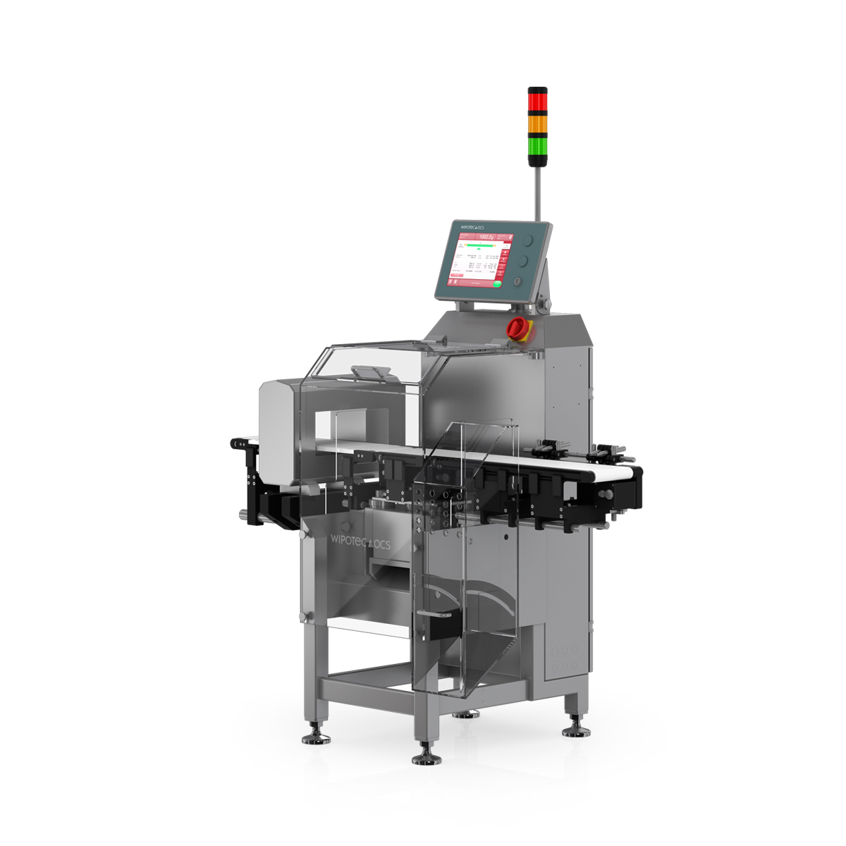Checkweigher and metal detector HC-M-MDi right view