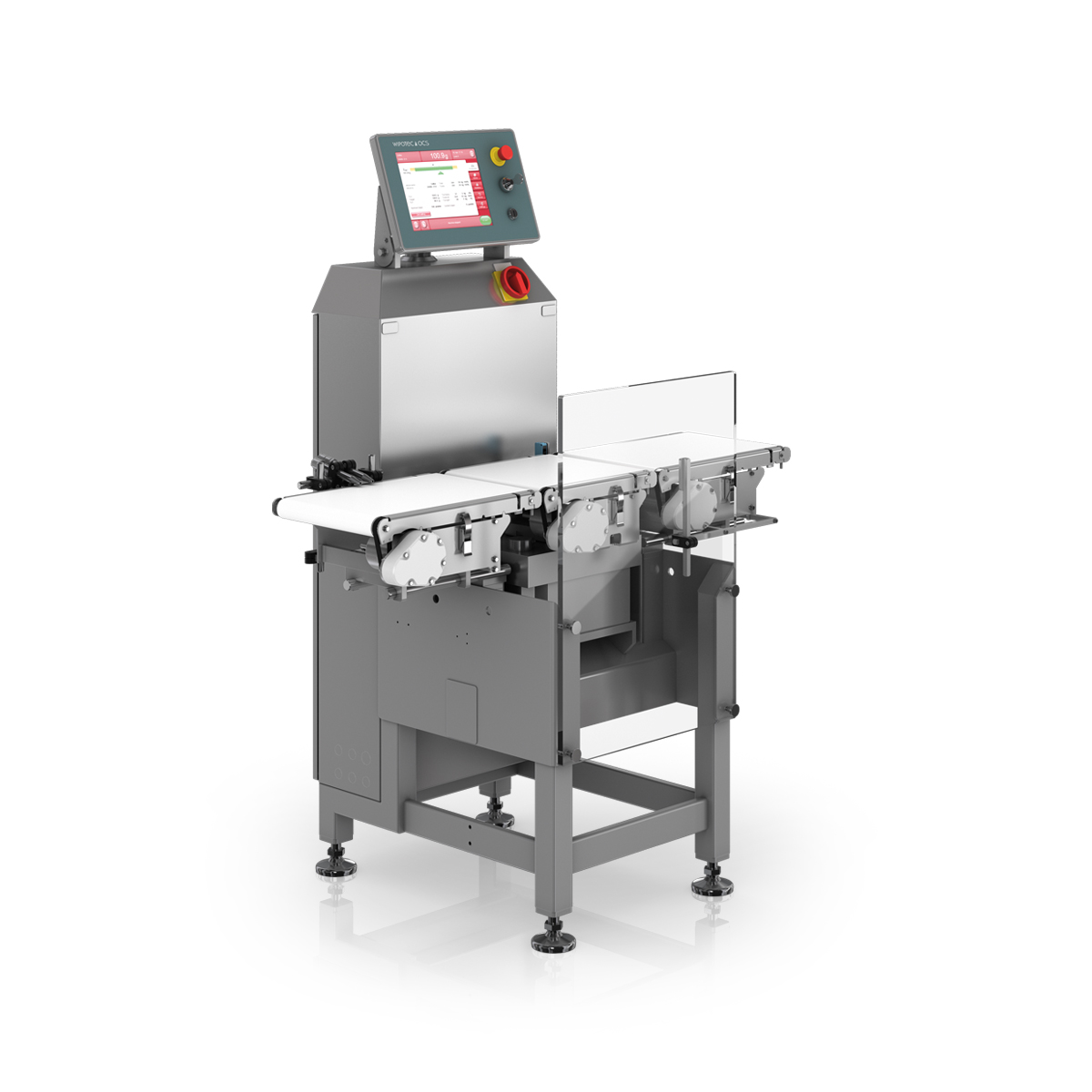 Checkweigher HC-M-VA left view