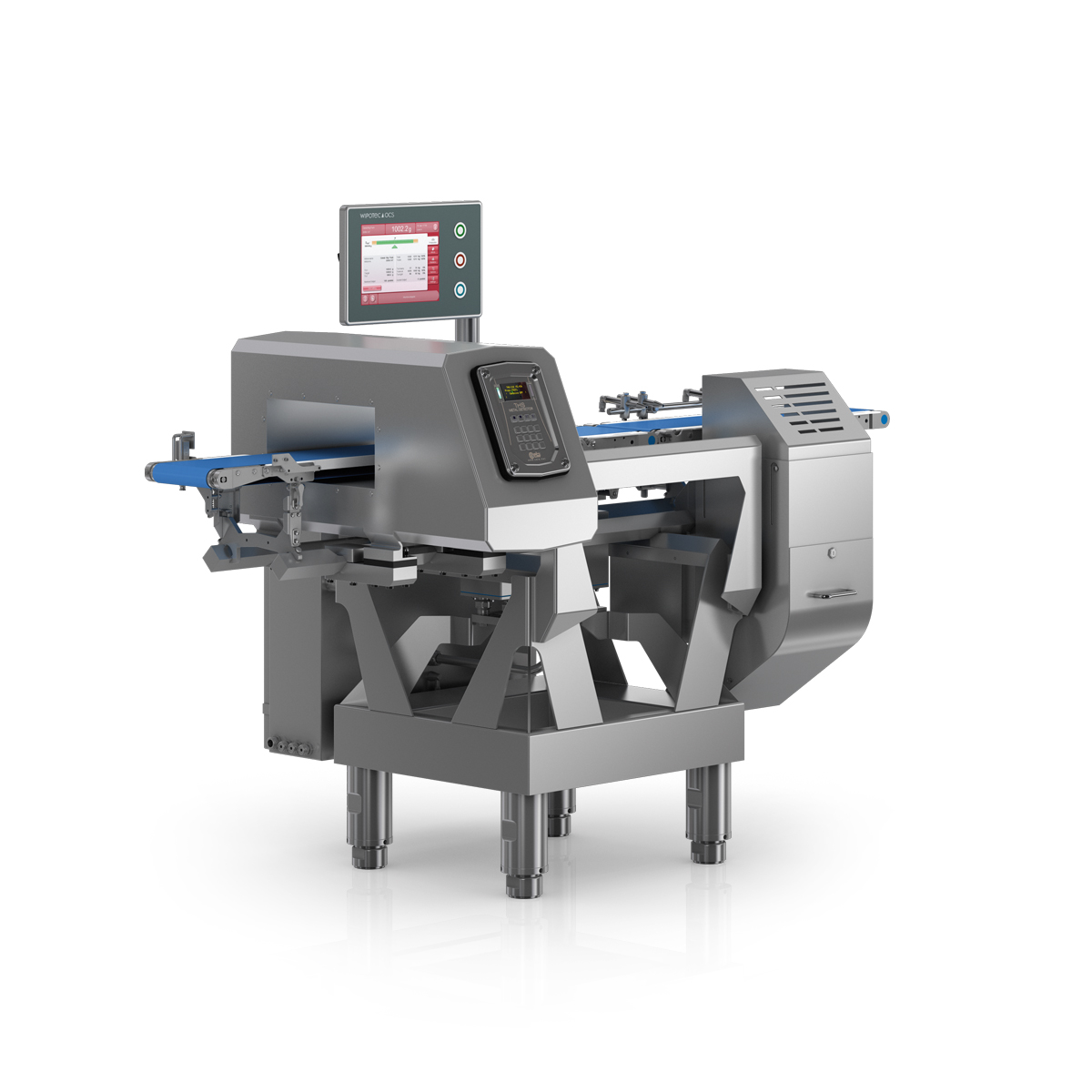 Checkweigher and metal detector HC-M-WD-MDi right view