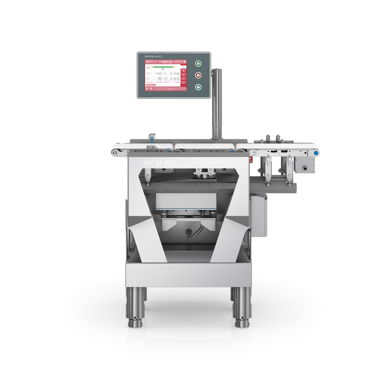 Checkweigher HC-M-WD front view