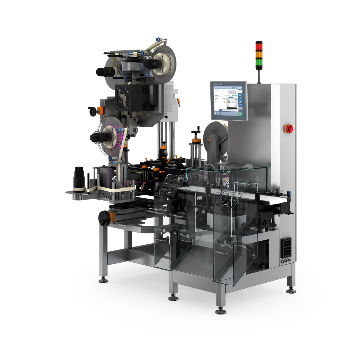 Serialization Pharma TQS-HC-A Tamper-Evident Vignette Labeler right view