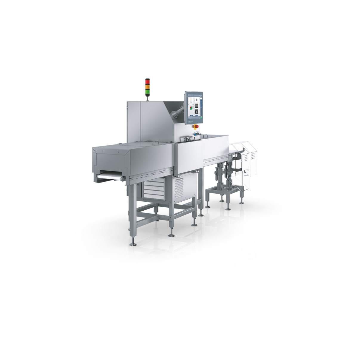 X-ray inspection and vision inspection system in one unit: SC-V left view v2